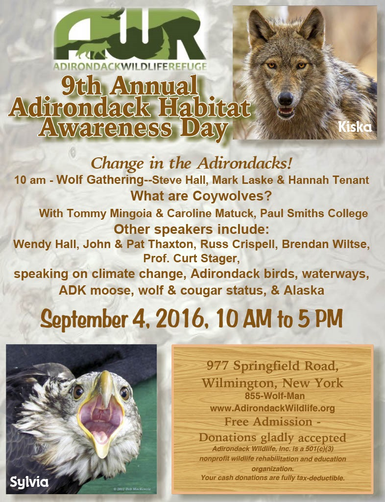 9th Annual Adirondack Habitat Awareness Day