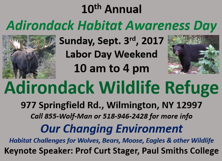 Adirondack Habitat Awareness Day 2017