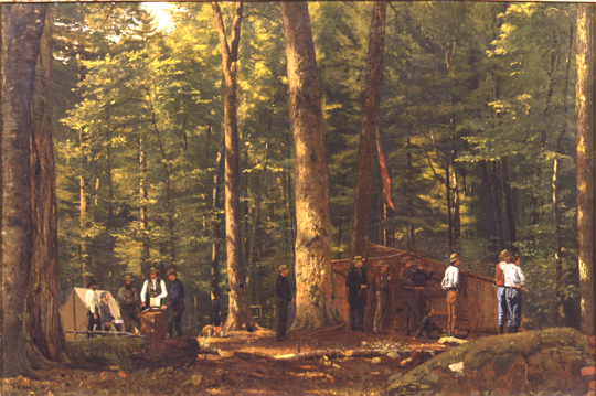 "Stillman's ""The Philosophers Camp"""