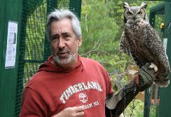 "Great Horned Owl ""Utah"" with Steve"