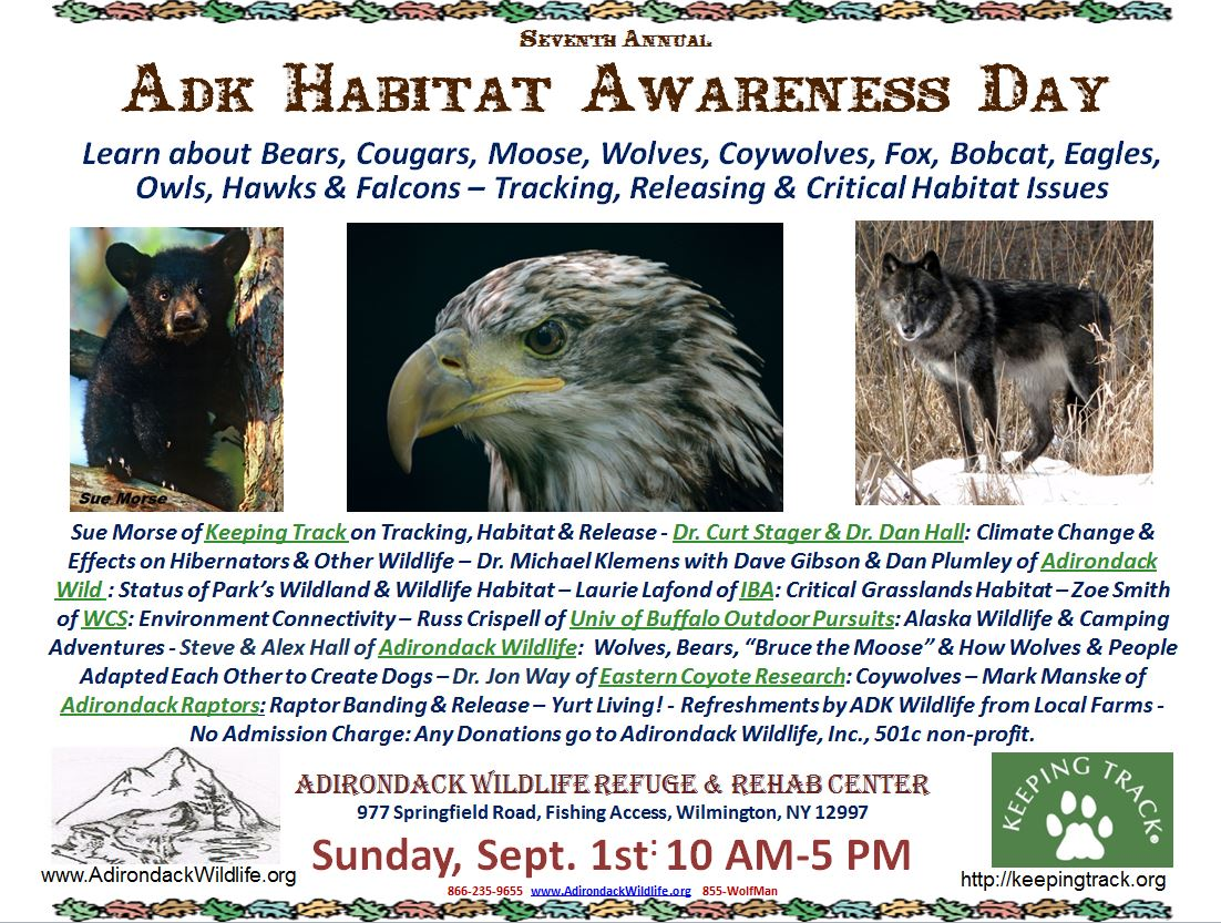 ADK Habitat Awareness day 2013