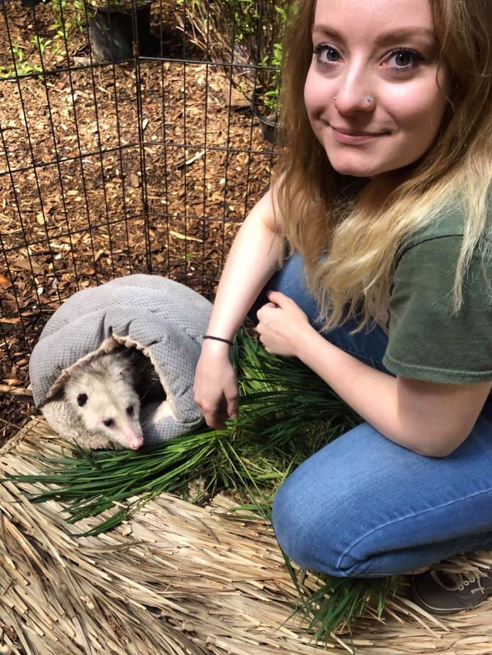 AShley and Possum